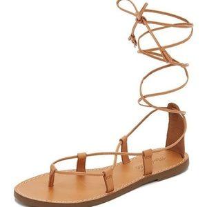"Madewell ""Boardwalk "" sandals"